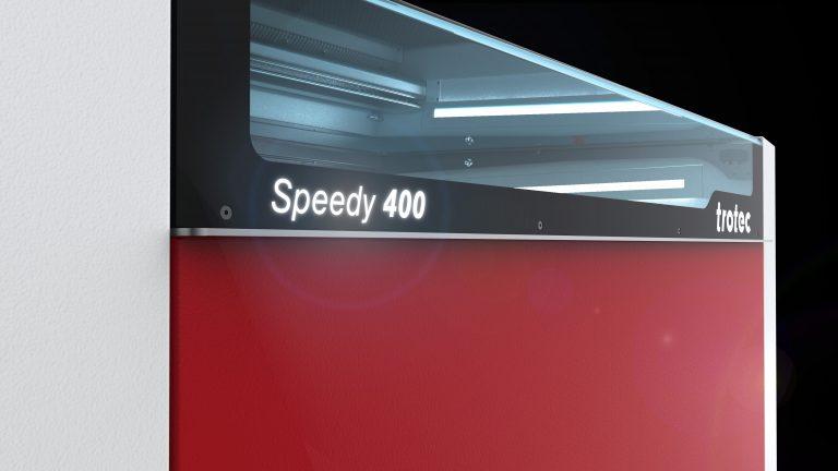 Speedy 400 lasergraveren Trotec