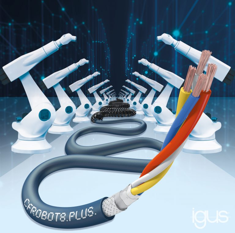 Igus 3D ethernetkabel