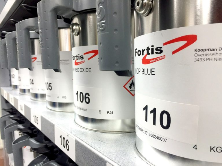 Fortis coatings industrie Koopman
