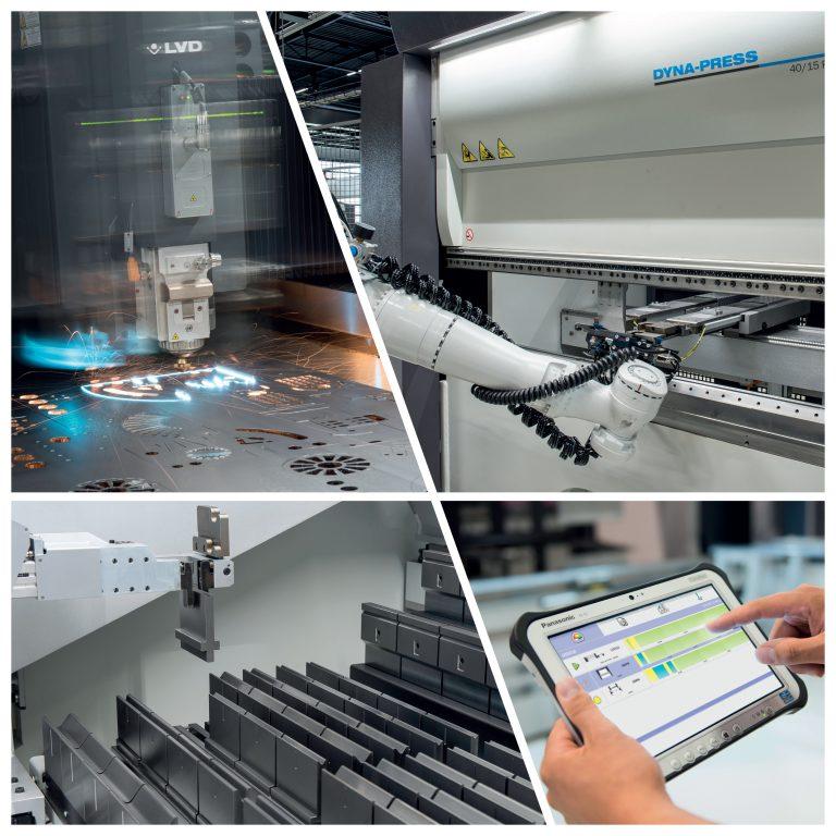 LVD Blechexpo Industrie 4.0