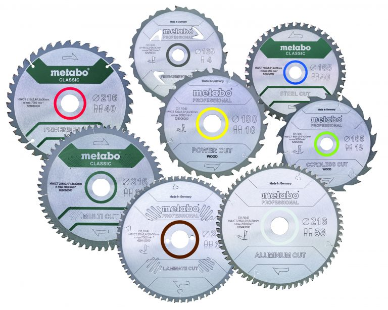 Metabo cirkelzaagbladen