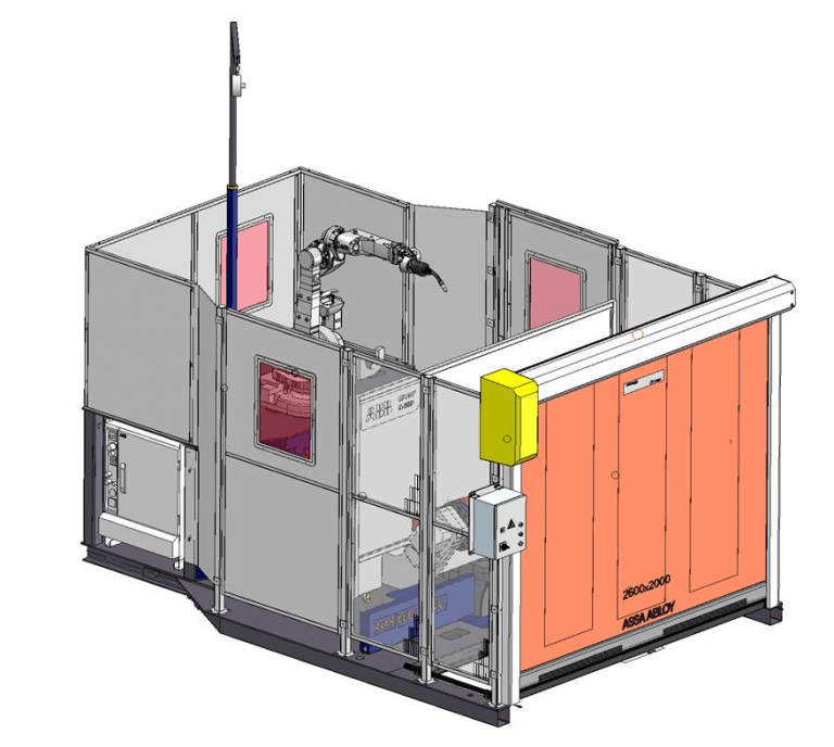 RobWelding compacte robotcel