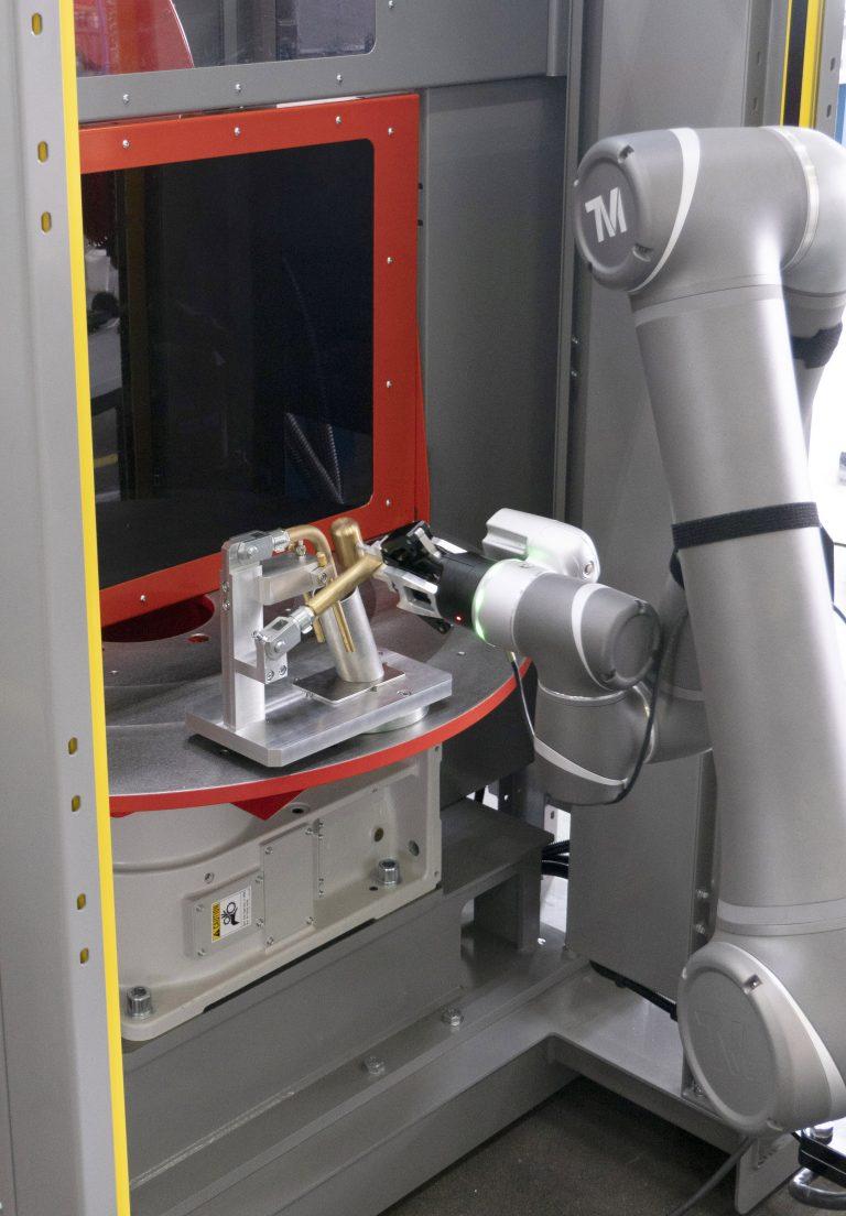 Valk Welding cobot robotcel op Metavak